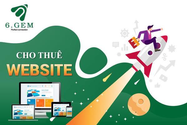 Dịch vụ cho thuê website chuyên nghiệp, chuẩn SEO của 6.GEM