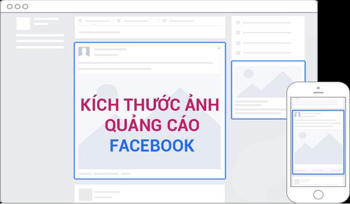 Các thông số kích thước hình ảnh chuẩn cho các định dạng quảng cáo Facebook