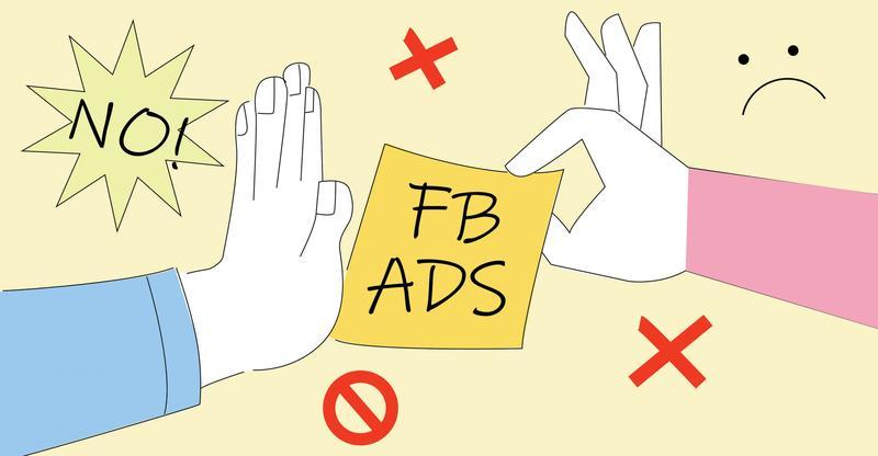 Danh sách các từ bị cấm khi chạy quảng cáo Facebook